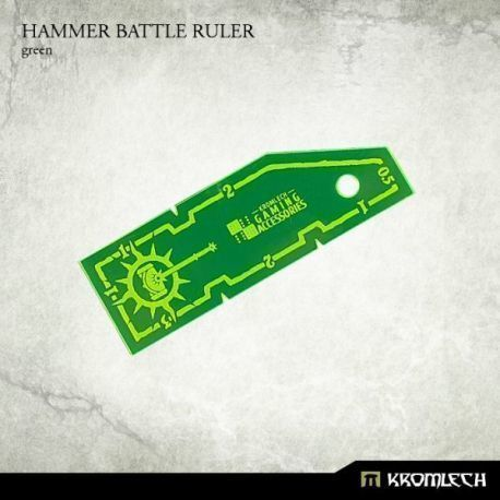 HAMMER BATTLE RULER GREEN