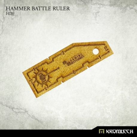 HAMMER BATTLE RULER HDF