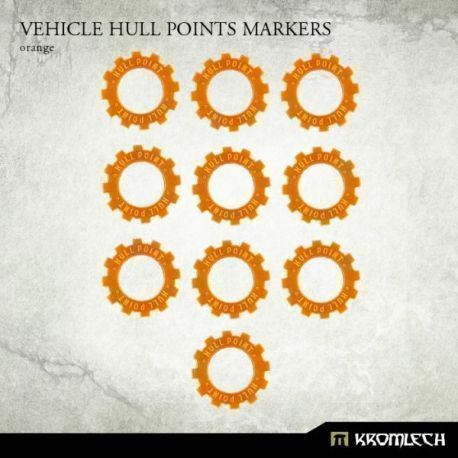 VEHICLE HULL POINT MARKERS ORANGE