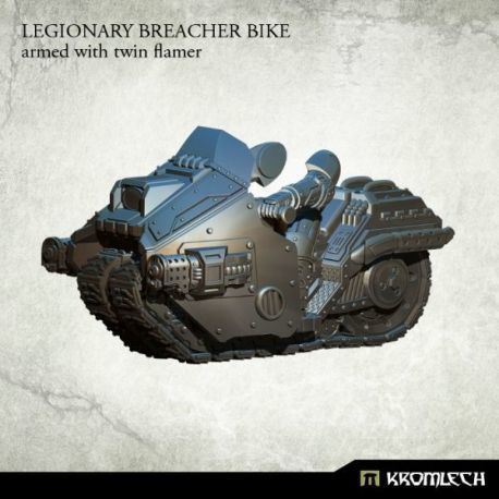 LEGIONARY BREACHER BIKE WITH TWIN FLAMER