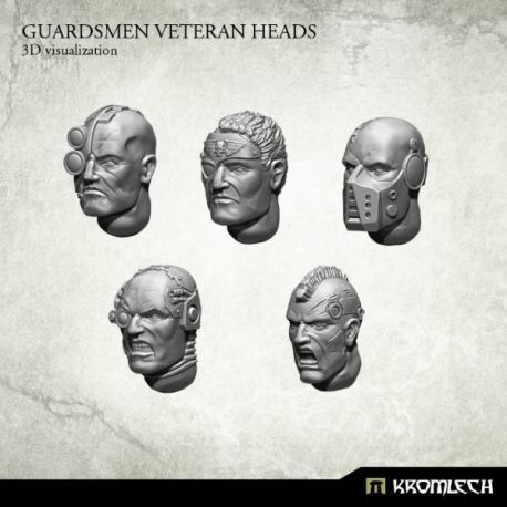 GUARDSMEN VETERAN HEADS