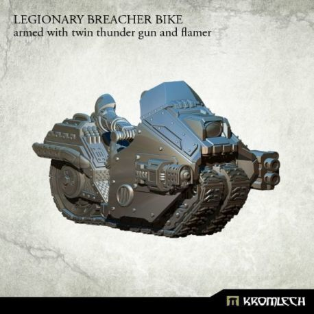 LEGIONARY BREACHER BIKE WITH THUNDER GUN AND FLAMER