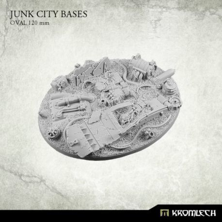 JUNK CITY BASES, OVAL 120MM