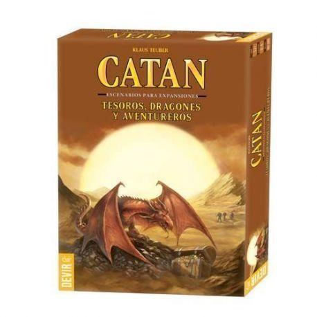Catan - Tesoros Dragones y Aventureros