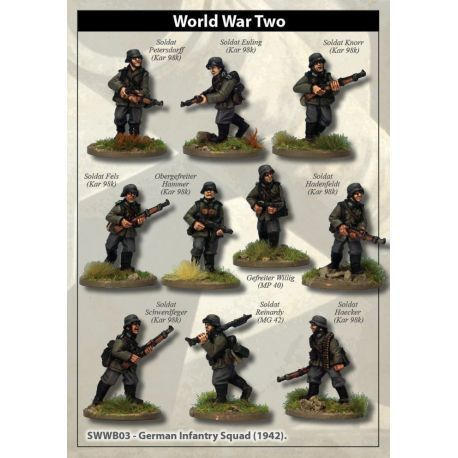 German Infantry Squad (1942)