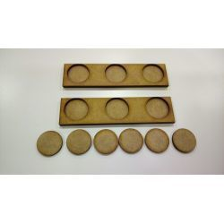 2 Movement Tray 120 x 30 mm, bases 25mm