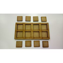 Movement Tray 120x60mm, bases 20x20mm