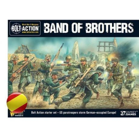 Band of Brothers Starter Set (Castellano) + Patton