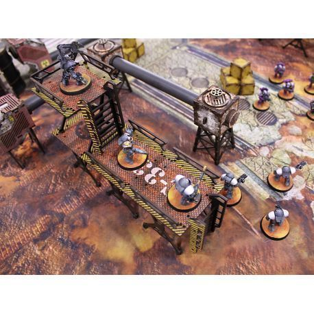 Industry Of Murder Table Set