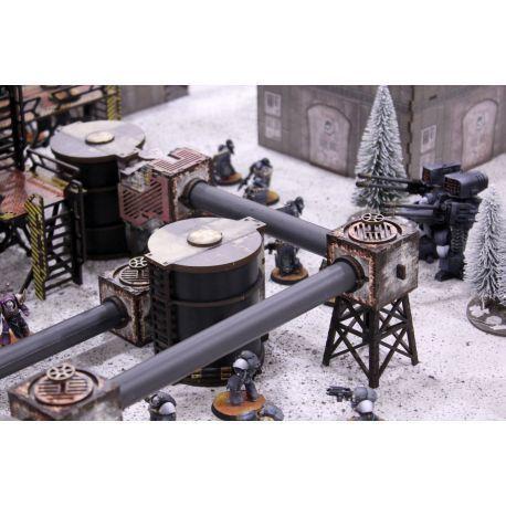 Industry Of Murder Oil Tanks