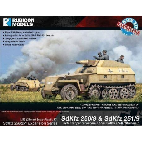 Rubicon Plastic - SdKfz Expansion - 250/8 & 251/9