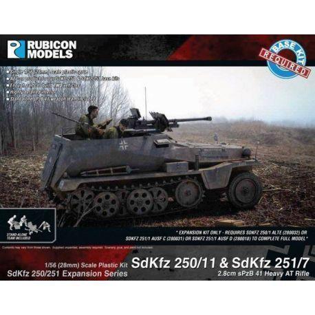Rubicon Plastic - SdKfz Expansion - 250/11 & 251/7