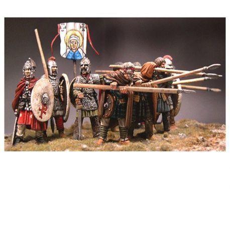 Aetius & Arthur - Briton Warband