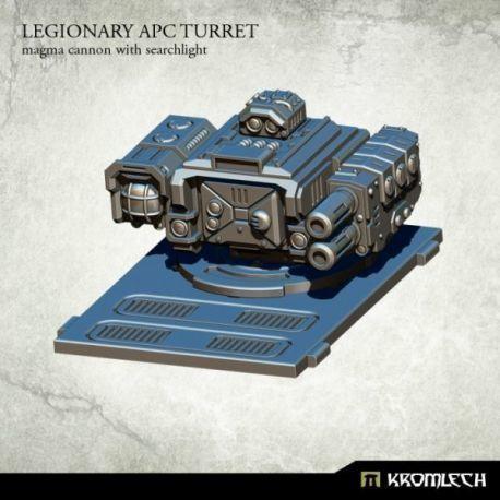 Legionary APC Turret: Magma Cannon with Searchlight