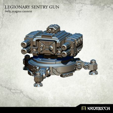 Legionary Sentry Gun: Twin Twin Magma Cannons
