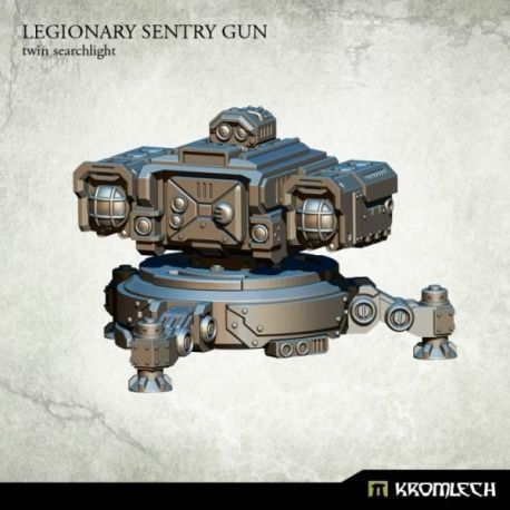 Legionary Sentry Gun: Twin Searchlights