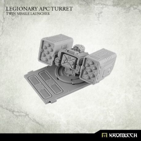 Legionary APC Turret: Twin Missile Launcher