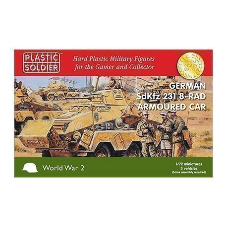 1/72nd German SdKfz 231 8-RAD Armoured Car