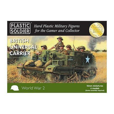 15mm British and Commonwealth Universal Carrier