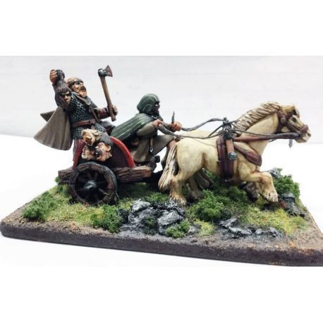 Pict Warlord in Chariot