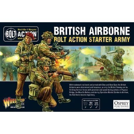 British Airborne - Bolt Action Starter Army