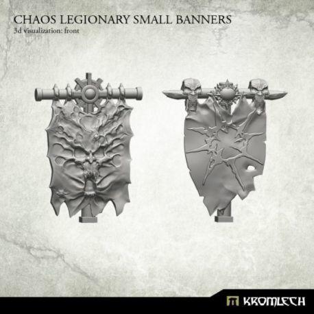 CHAOS LEGIONARY SMALL BANNERS