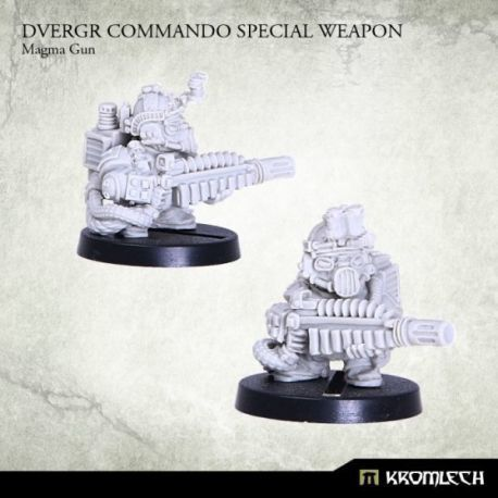 DVERGR COMMANDO SPECIAL WEAPON: MAGMA GUN