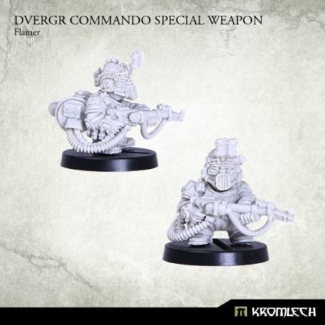 DVERGR COMMANDO SPECIAL WEAPON: FLAMER