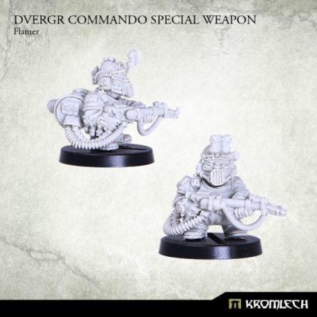 DVERGR COMMANDO SPECIAL WEAPON: FLAMER