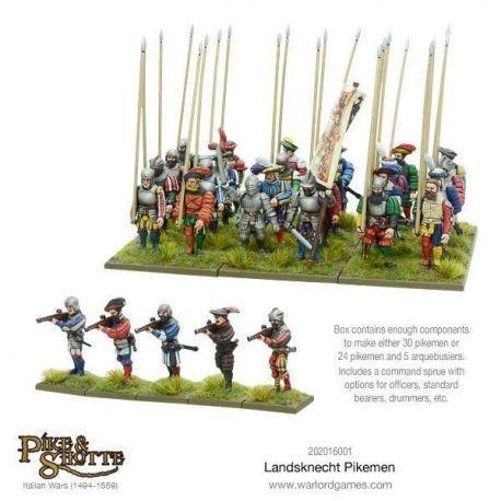 Landsknechts Pikemen (plastic)