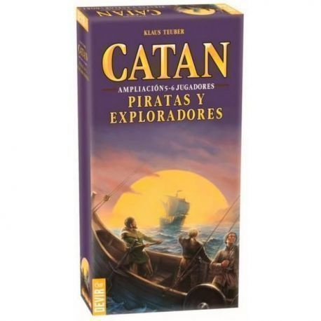 CATAN – PIRATAS Y EXPLORADORES