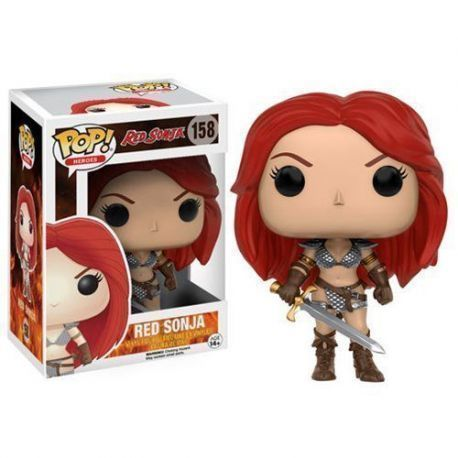 FIGURA POP HEROES: RED SONJA