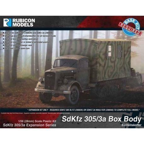 SdKfz 305/3a Expansion Set - Box Body (Einheitskoffer)