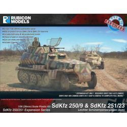 SdKfz 250/251 Expansion Set - SdKfz 250/9 & 251/23 - 2cm KwK 38 Autocannon