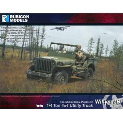 Willys MB 1/4 ton 4x4 Truck - US