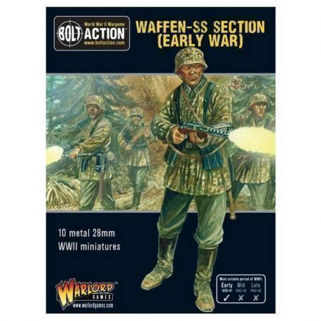 EARLY WAR WAFFEN SS SQUAD (METAL BOXED SET)