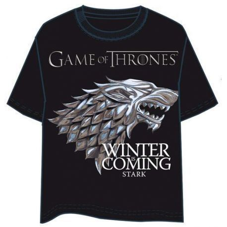 Camiseta Logo Star Games Of Thrones Talla L