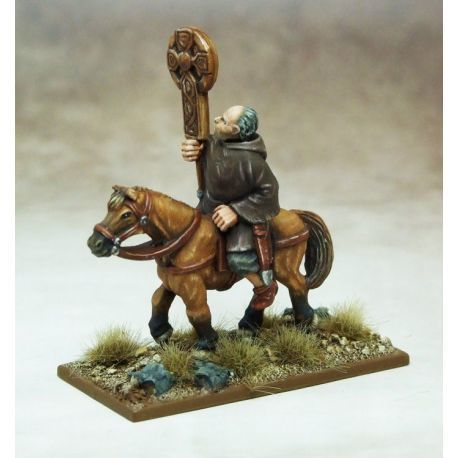 SAGA Mounted Celtic Christian Priest (1)