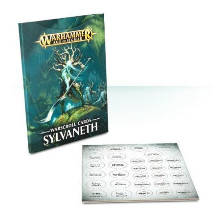 WARSCROLL CARDS: SYLVANETH (ESP)