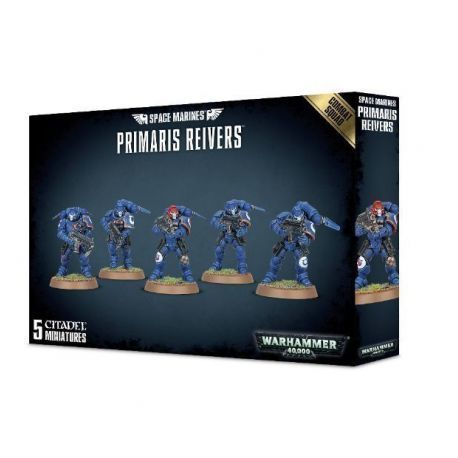 SPACE MARINES PRIMARIS REIVERS COMBAT SQUAD (5)