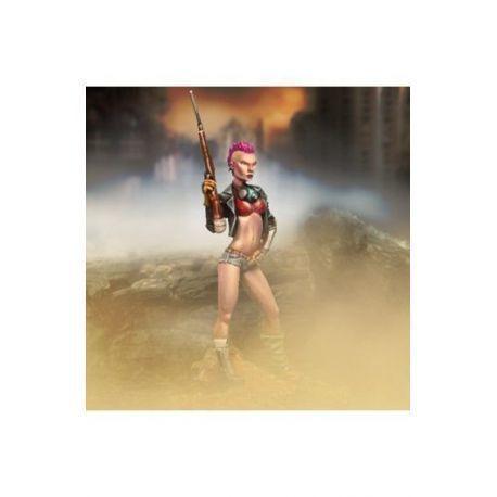 Female Badass (Rifle/Crossbow and Biohazard protection)
