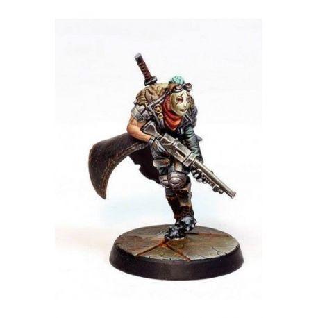 Ganger Badass (Shoutgun and Medium Blade)