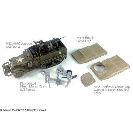 M3/M3A1 Expansion Kit - M21 MMC & Tarpaulin Set