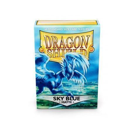 FUNDA MATE DRAGON SHIELD SKY BLUE (60)