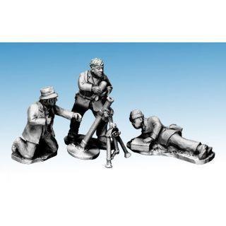 Partisans firing Mortar
