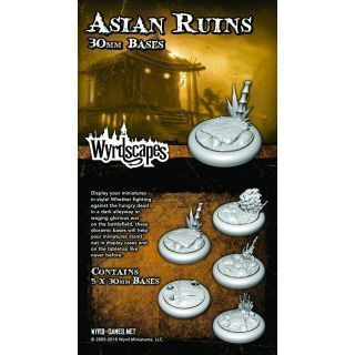 WYRDSCAPES ASIAN RUINS 30 MM