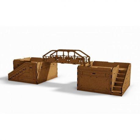 2 Q-Building L and Bridge