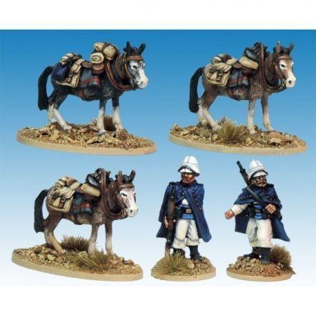 Legion Mounted Company Mule holders.