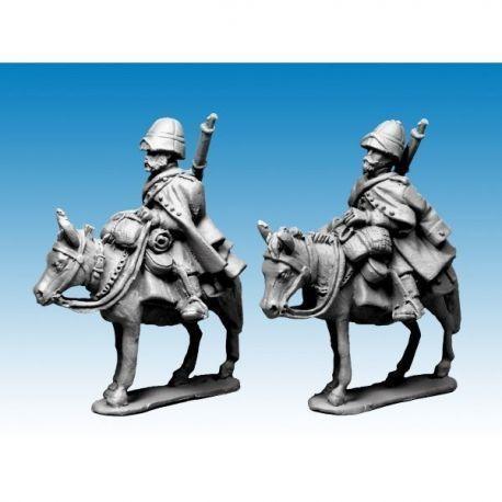 Mounted Legion Company in Great Coats and Sun Helmets