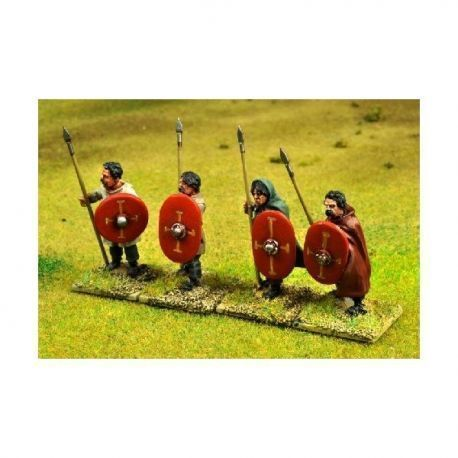 Romano British Spearmen Standing